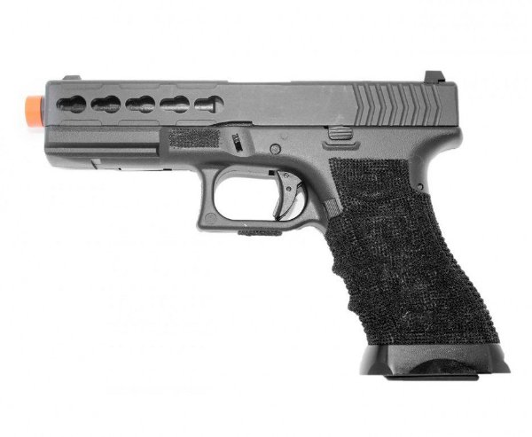 Pistola Airsoft  GBB Glock 747 Blowback + Case - Double Bell