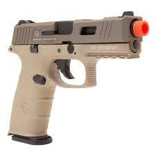 Pistola Airsoft  GBB Green Gás BLE-XFG - Tan - ICS