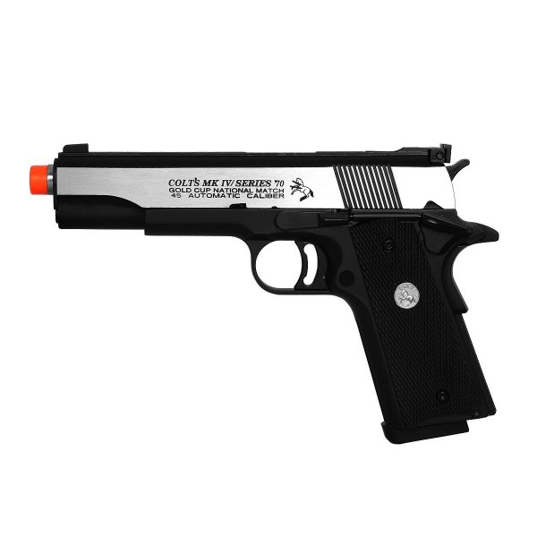 Pistola Airsoft GBB Green Gás Colt 1911 R29Y Blowback Full Metal - Army Armament
