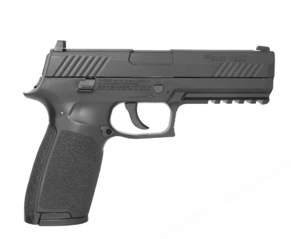 PISTOLA DE PRESSÃO CO2 SIG SAUER P320 BLOWBACK FULL METAL - 4,5MM