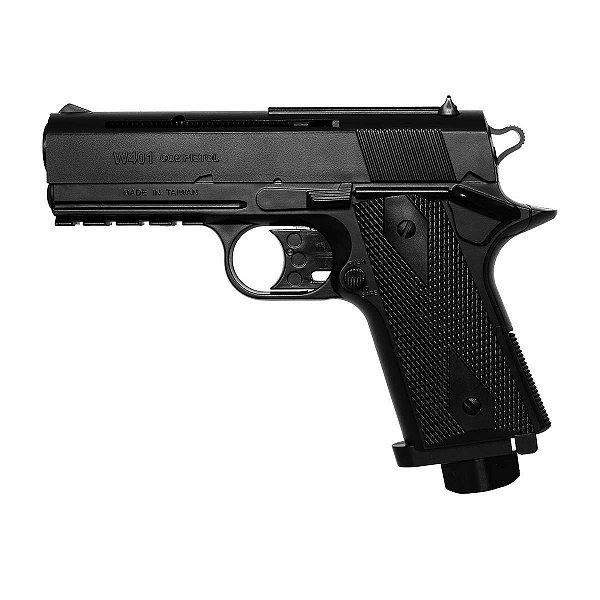 Pistola de Pressão CO2 W401 Wingun  - 4,5mm