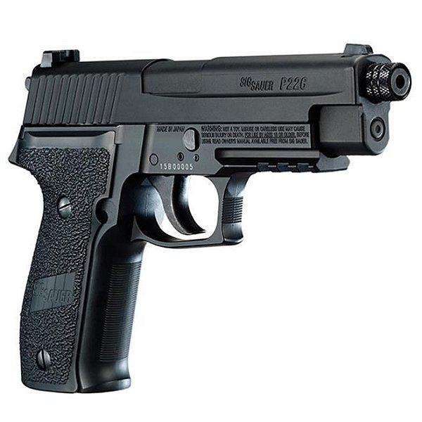 Pistola de Pressão CO2 P226 Blowback Full Metal Sig Sauer - 4,5mm
