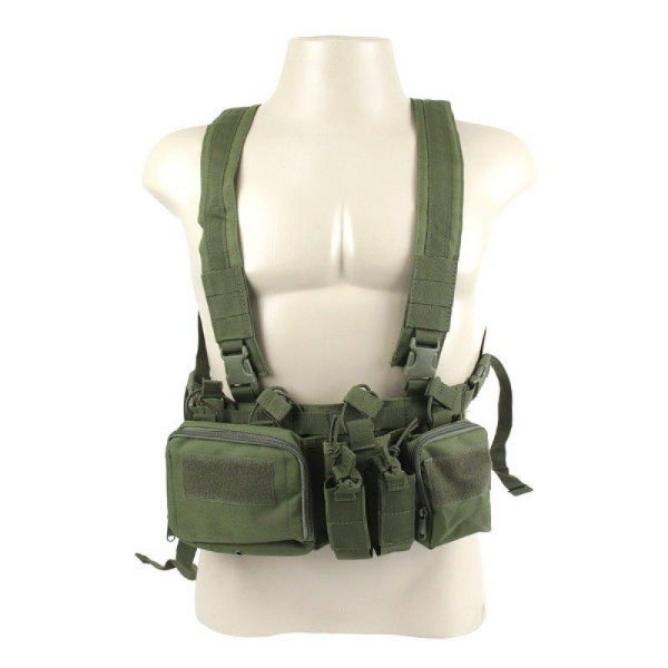 COLETE CHEST RIG ORION  FJA-181 - VERDE