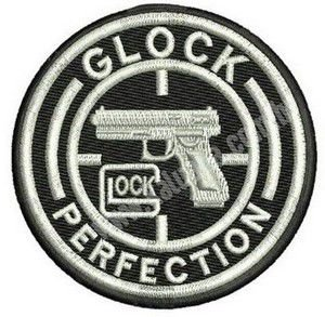 PATCH BORDADO GLOCK PERFECTION - KALUAPA