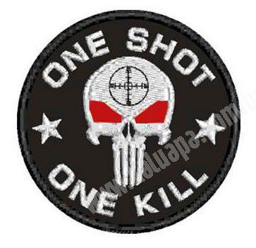 PATCH BORDADO ONE SHOT - KALUAPA