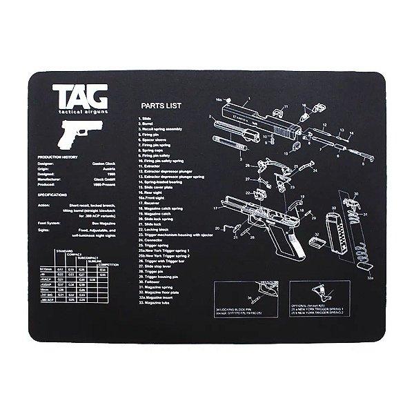 TAPETE P/ LIMPEZA DE ARMAS GUNMAT - TAG