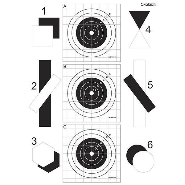 Alvo Multi Técnica - Shotgun