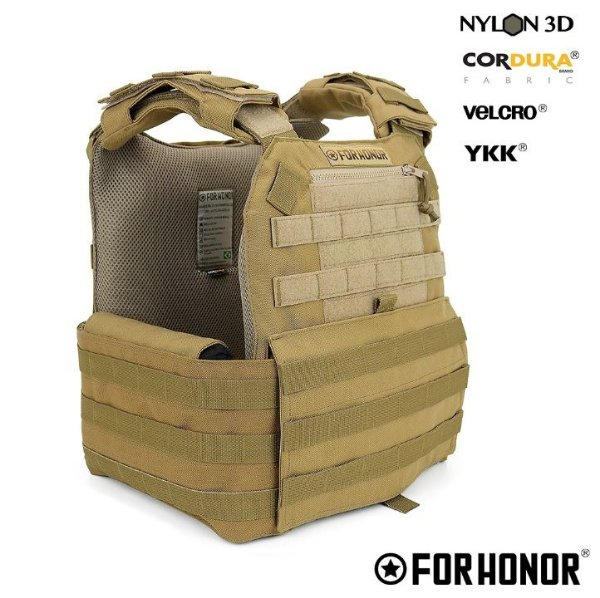 COLETE MODULAR PLATE CARRIER G2 FORHONOR - COYOTE
