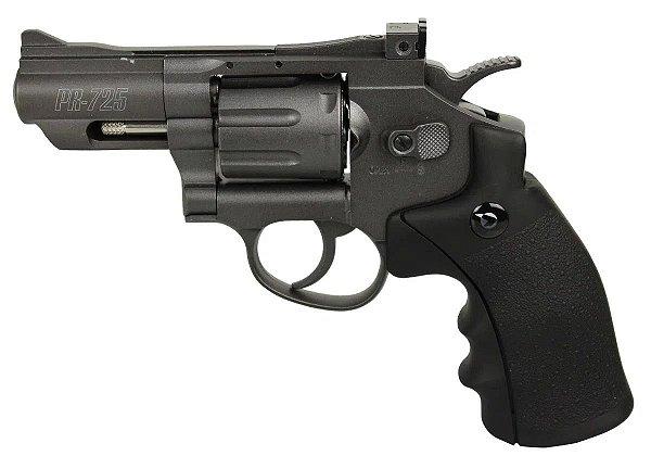 Revólver de Pressão  CO2 PR-725 Gamo Full Metal - 4,5mm