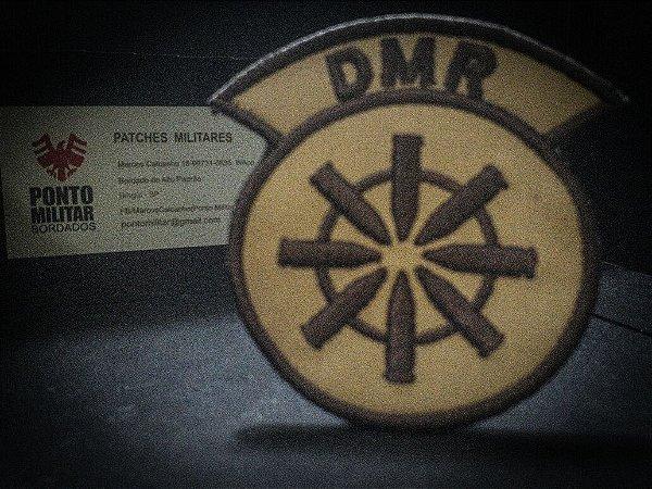 Patch Bordado Função DMR - PONTO MILITAR