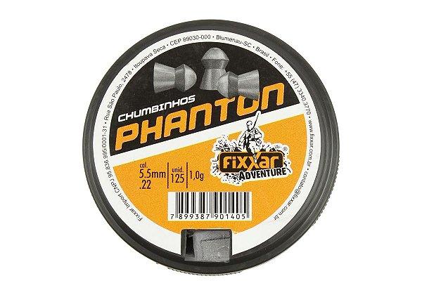 CHUMBINHO FXR PHANTON 5,5MM (125UN)