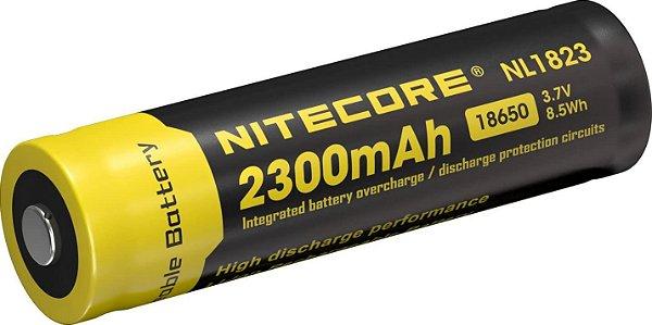 Bateria lítio 18650 Nnl1823 2300mAh - Nitecore