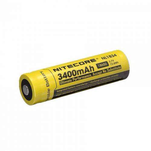 Bateria lítio 18650 nl1834 3400mAh - Nitecore