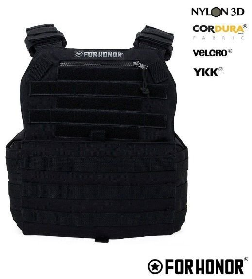 COLETE MODULAR PLATE CARRIER G2 FORHONOR - BLACK