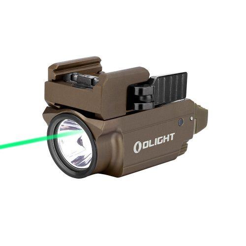 Lanterna para pistola baldr mini c/ laser 600 lúmens tan - Olight