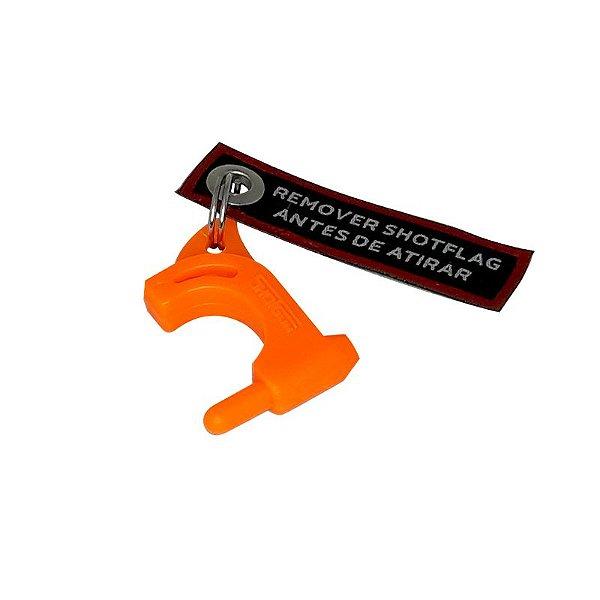 Shotflag SF laranja para pistolas e carabinas .22lr - Shotgun