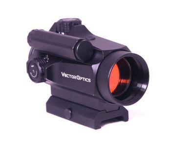 Red dot nautilus - vector optics