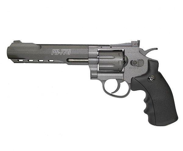 Revólver de Pressão CO2 PR-776 Gamo Full Metal - 4,5mm