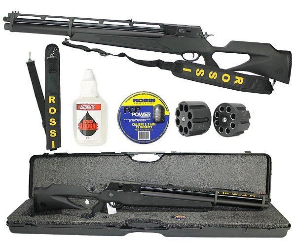 Carabina de Pressão PCP R8 Black 5,5mm - Rossi