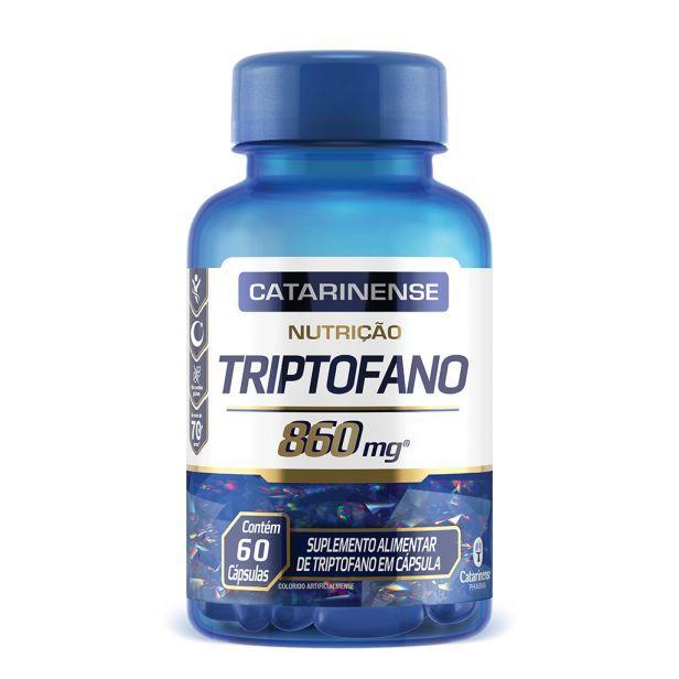 Triptofano 60 Cápsulas Catarinense