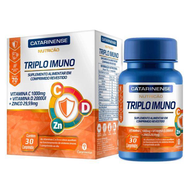 Triplo Imuno 30 Comprimidos Catarinense