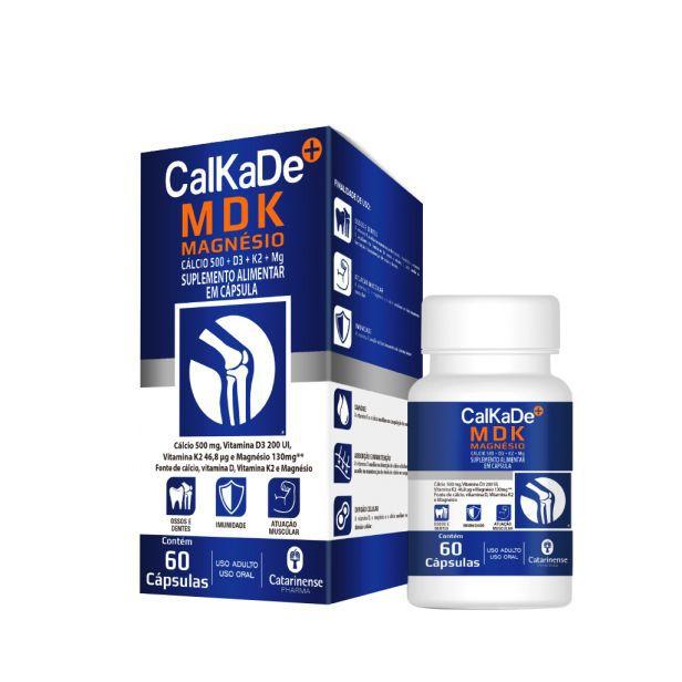 Calkade MDK 60 Cápsulas Catarinense