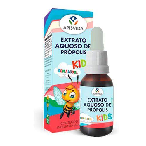 Extrato Aquoso de Própolis + Morango KIDS 30ml Apisvida