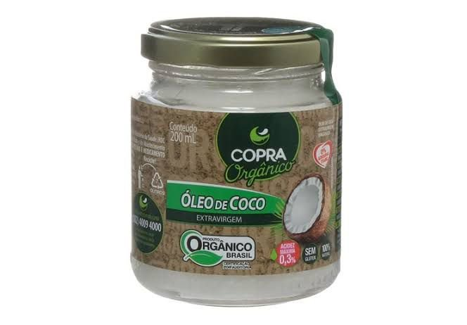 Óleo de Coco Extravirgem Orgânico 200ml Copra