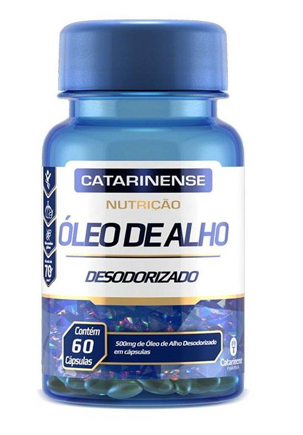 Óleo De Alho Desodorizado 60 Cápsulas Catarinense