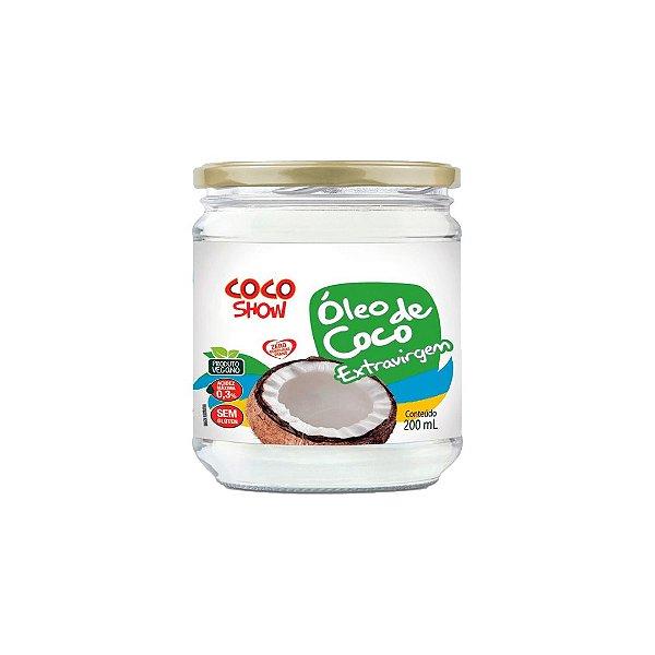 Óleo de Coco Extravirgem 200ml Coco Show