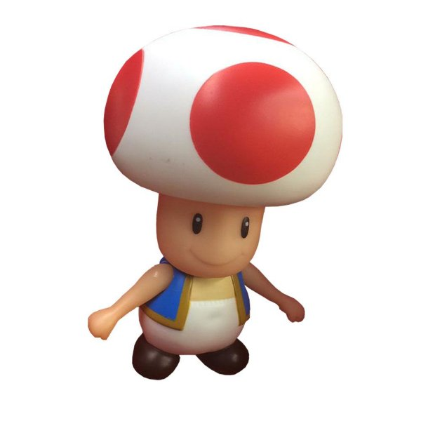 Boneco Toad PVC 23cm - Super Mario Collection