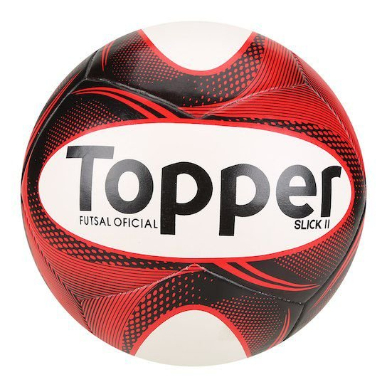 Bola Futebol Futsal Topper Slick II - Besttenis - Compre Em Até 10X ... 7324f534c388f