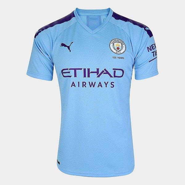 Camisa Puma Manchester City Home Torcedor