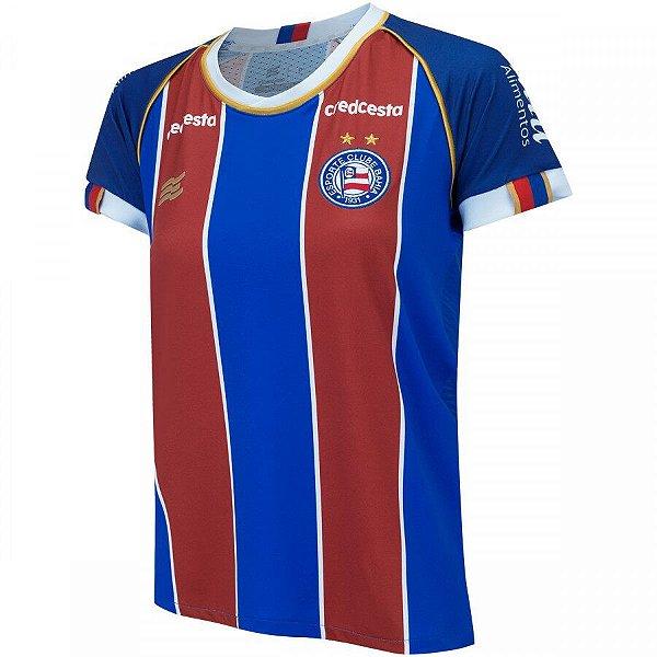 Camisa do Bahia II 2020 Esquadrão - Feminino