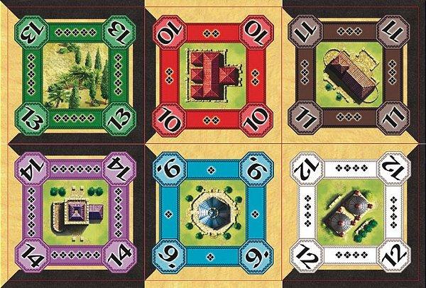Alhambra - Promo 01: As Construções Mágicas