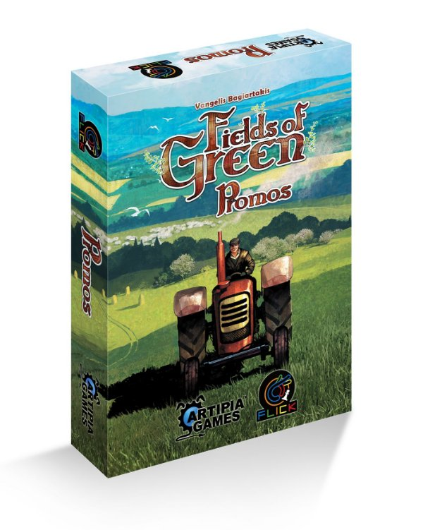 [PRÉ-VENDA] Fields of Green: Promos