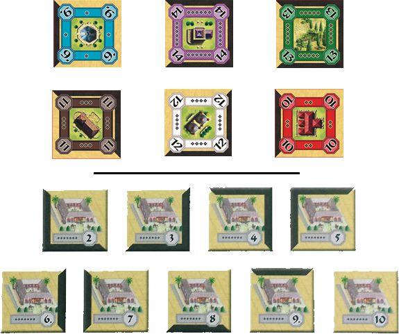Alhambra - Promo Pack: As Contruções Mágicas e As Medinas
