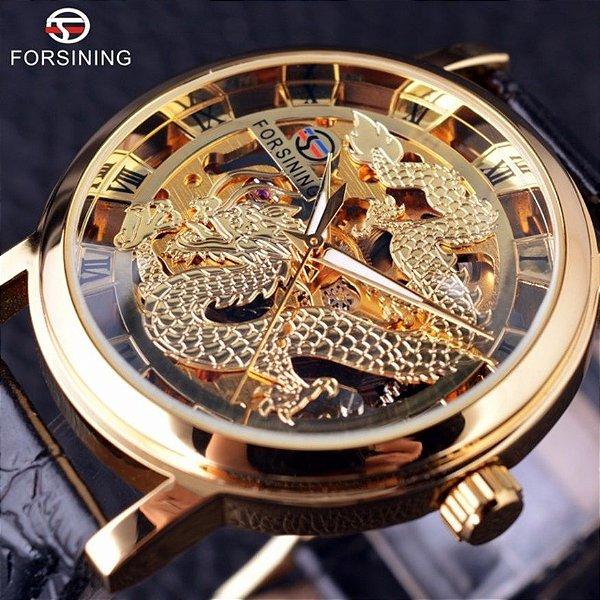 Relógio Skeleton Dragon