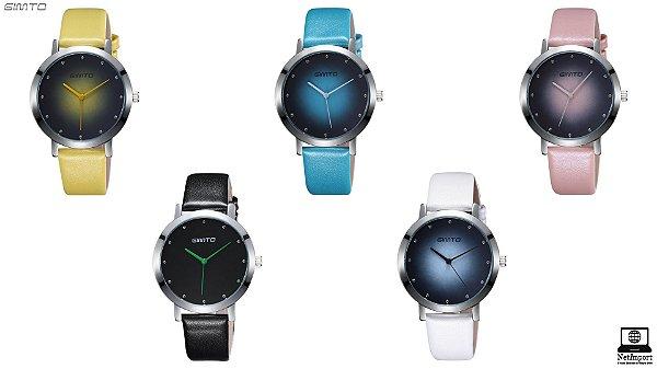 Relógio de Design Exclusivo e Feminino - GIMTO