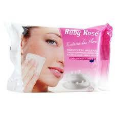 Lenço removedor de maquiagem Ruby Rose