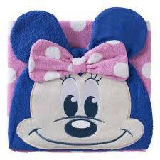 Toalha fralda Disney Baby com Capuz