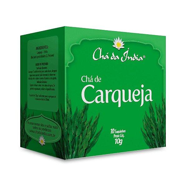 Chá de Carqueja - Chá da Índia – 10 Sachês
