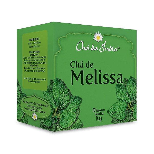 Chá de Melissa - Chá da Índia – 10 Sachês