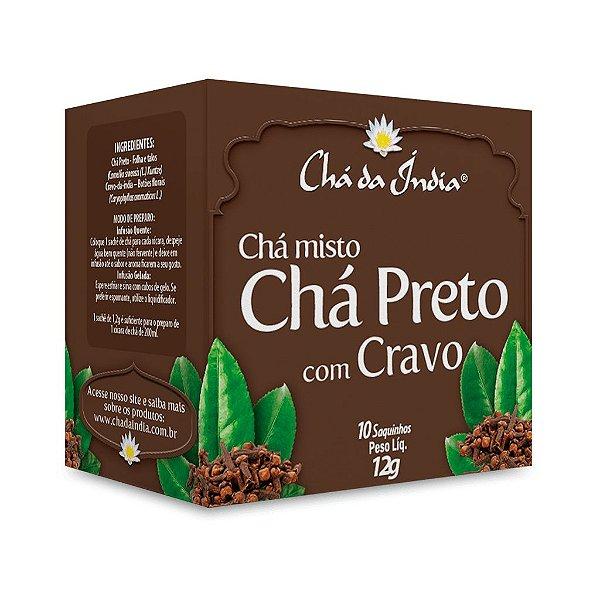 Chá Preto com Cravo  - Chá da Índia – 10 Sachês