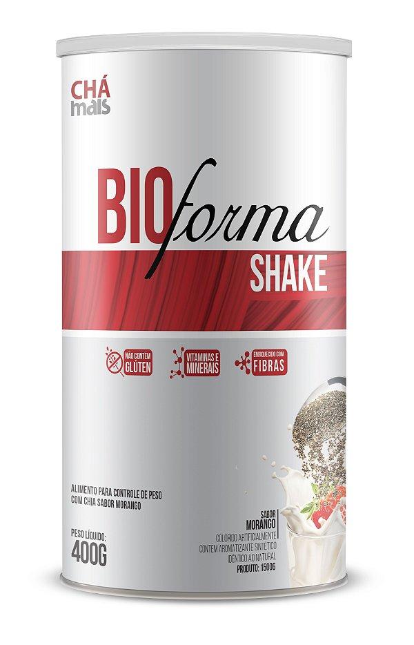 Shake Bio Forma, sabor Morango - CháMais - 400g