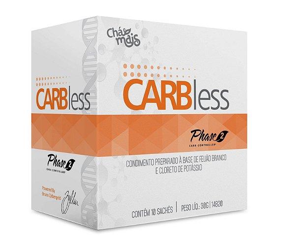 Carbless - Condimento à base de feijão branco e cloreto de potássio - ClinicMais - 10 Sachês