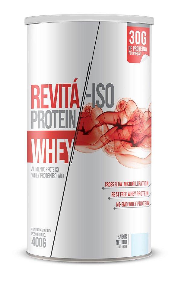 Whey Revita Iso Protein sabor Neutro - CháMais - 400g