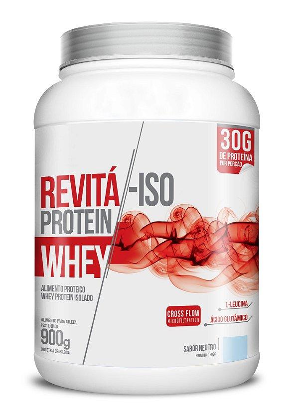 Whey Revita Iso Protein sabor Neutro - CháMais - 900g