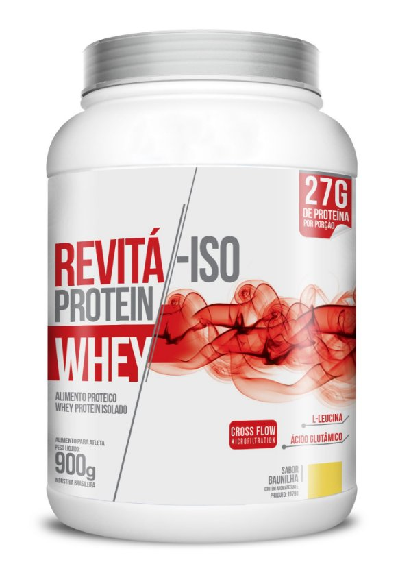 Whey Revita Iso Protein sabor Baunilha - CháMais - 900g