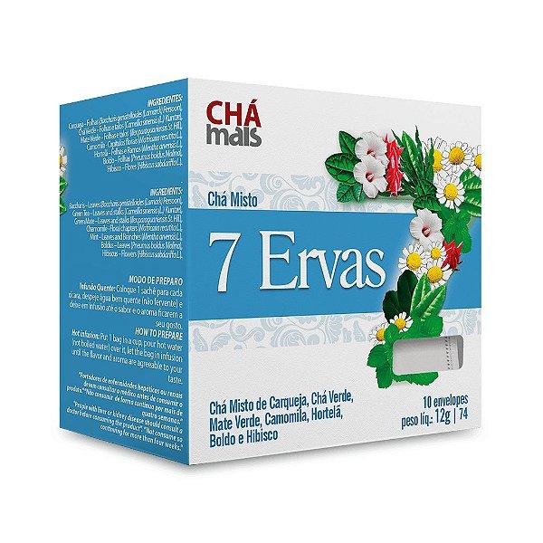 Chá Misto de 7 Ervas - CháMais - 10 Sachês